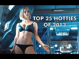25 najgorętszych kobiet 2013