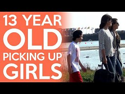 13-latek podrywa dziewczęta