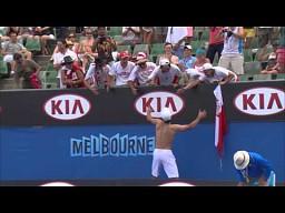 Australian Open: Wspaniałe zachowanie Jerzego Janowicza