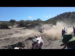 Pechowy podjazd na rajdzie Dakar 2014