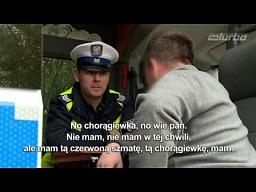 Niekompetencja policjantów w TVN Turbo