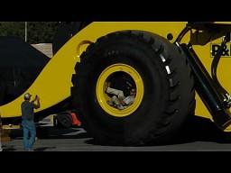 LeTourneau L-2350 - największa ładowarka kołowa na świecie