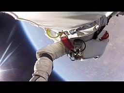 Nowy film HD ze stratosferycznego skoku Feliksa Baumgartnera