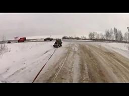 Rosyjski kulig - wersja extreme