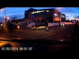 Wypadek na przejściu