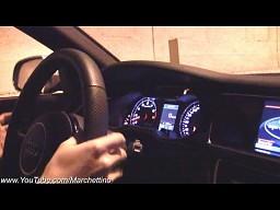 Audi RS4 - niesamowity dźwięk wydechu