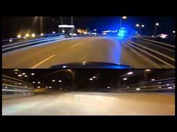 HIGHWAY 2 C63 AMG vs szwedzka policja