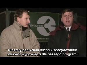 Jerzy Urban jako szofer Moniki Olejnik