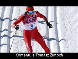 Tomasz Zimoch i Justyna Kowalczyk