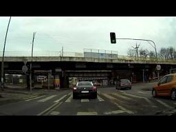 Ciekawe skrzyżowanie w Poznaniu