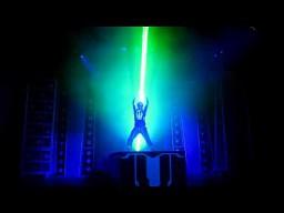 Laser show z Disneya