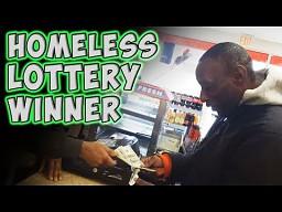 Bezdomny wygrywa na loterii