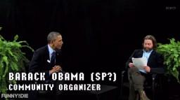 Pomiędzy paprotkami z Zachem Galifianakisem: Barack Obama