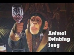 Animal Drinking Song