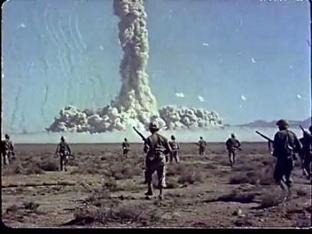 Tak Amerykanie testowali bombę atomową na SWOICH żołnierzach