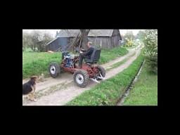 Terenowy traktor domowej roboty