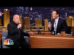 Billy Joel i Jimmy Fallon śpiewają The Lion Sleeps Tonight