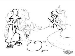 Harry Potter vs Frodo