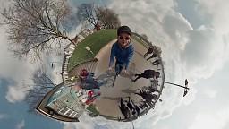360 stopni - video z kamery GoPro