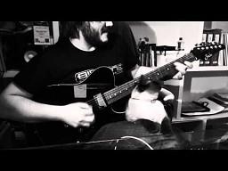 Kociarz z gitarą