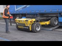 """Zdalnie sterowany wózek widłowy na wyposażeniu """"TIR'a"""""""