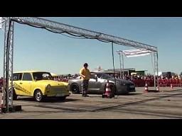 Trabant vs Nissan GTR