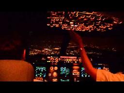 Lądowanie w Warszawie -  Airbus A320