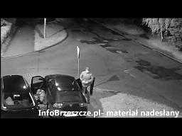 """Kradzież samochodu """"pod okiem"""" Straży Miejskiej w Brzeszczach"""