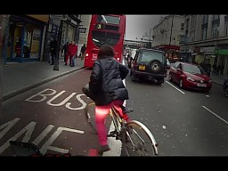 Londyńscy cykliści...