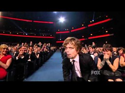 Peter Dinklage z Gry o Tron na Emmy Awwards