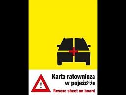 Karta Ratownicza Samochodu