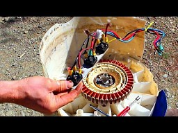 Jak zbudować mini elektrownie wodną ze starej pralki?