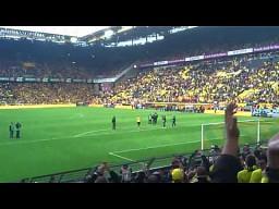 Piękne pożegnanie kibiców Borussii Dortmund z Robertem Lewandowskim