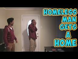 Bezdomny dostaje mieszkanie