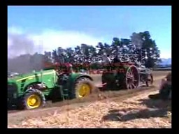 John Deere vs Traktor parowy