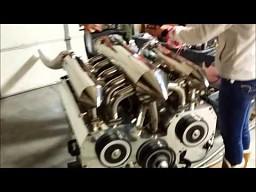 Dwunasto-rotorowy silnik Wankla
