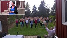 Flash mob dla Amy!