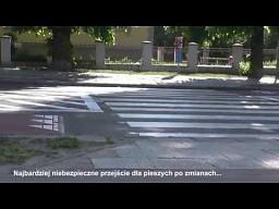 Najniebezpieczniejsze przejście dla pieszych w Gdańsku po zmianach
