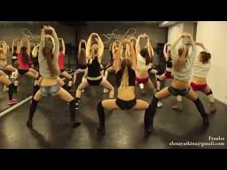 Twerkujące układy taneczne