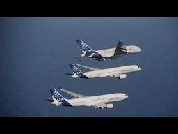 3 Airbusy we wspólnym locie