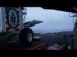 Awaryje lądowanie AV-8B Harrier