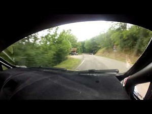 Onboard Kubicy w Rally del Casentino