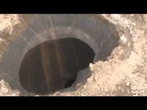 Gigantyczny krater na Syberii