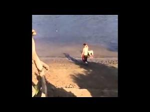 Skok z wybrzeża