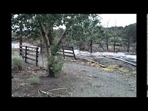 Powódź błyskawiczna w północnej Nevadzie