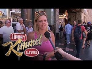 Jimmy Kimmel i nowy zegarek od Apple