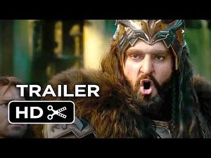 Hobbit: Bitwa Pięciu Armii (zwiastun)