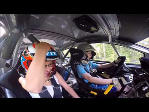 13 latek za kierownicą auta WRC