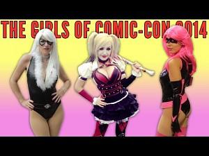 Dziewczyny z Comic-Con 2014