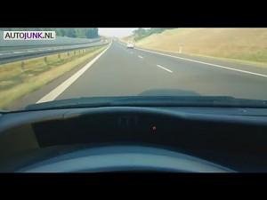 Trabant z Rzeszowa na autostradzie